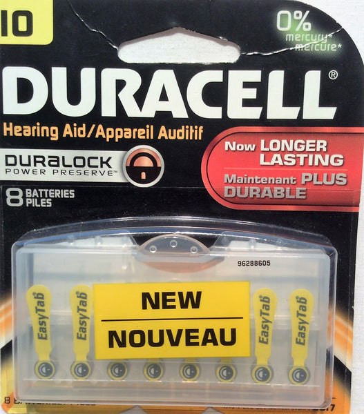 Duracell Hearing Aid Batteries #10