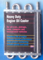 "Perma Cool 691 Engine Oil Cooler Coil Only (6 Pass) 1/2"" HB"