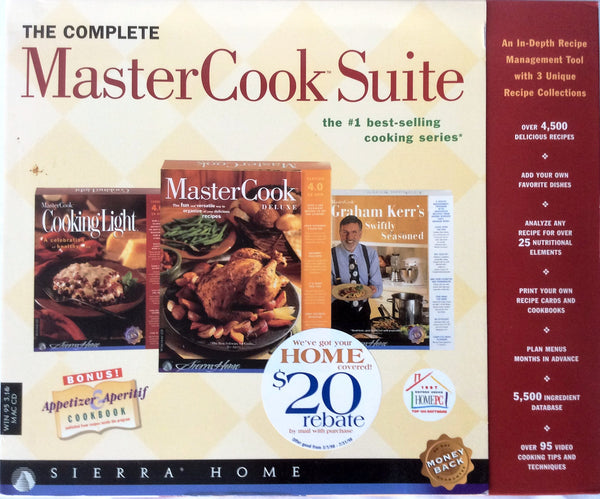 The Complete MasterCook Suite
