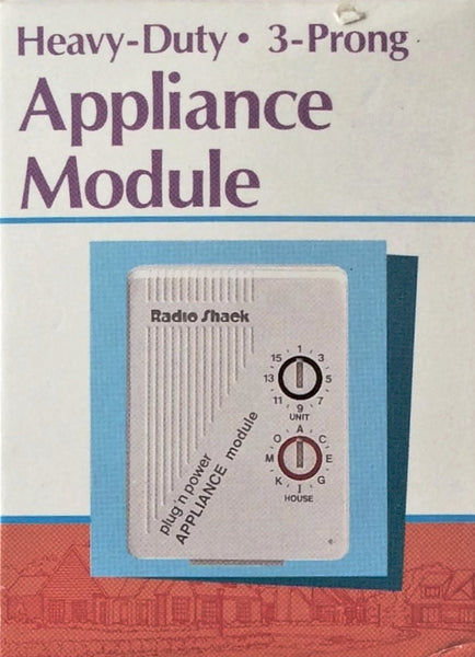 RadioShack Heavy Duty Appliance Module 3-Prong Plug N  Power, Remote Controlled