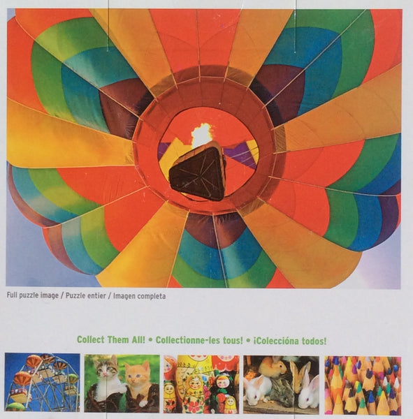 Colorful Hot Air Balloon Snaps Puzzle 100 Pieces