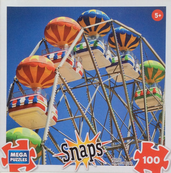 Ferris Wheel Snaps Puzzle 100 Pieces