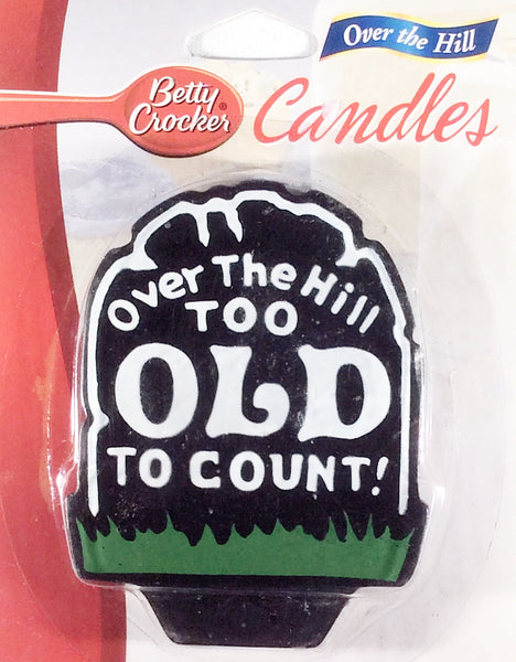 Over the Hill - Birthday Cake Candle