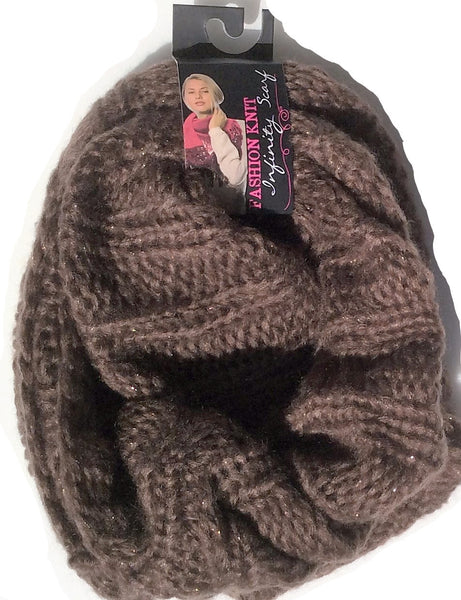 Fashion Knit Infinity Scarf