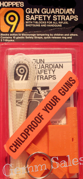 Hoppe's 9 Gun Guardian Safety Straps