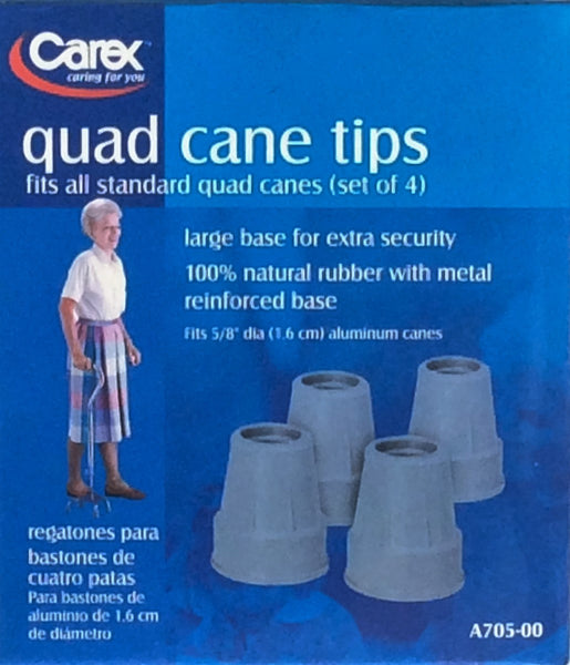 Carex Quad Cane Tips