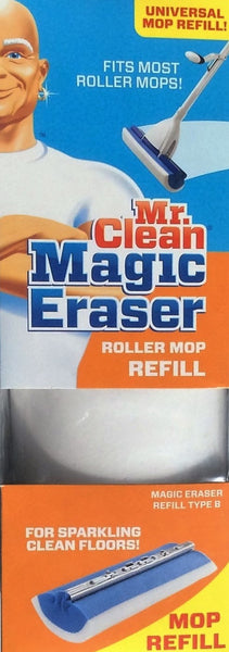 Mr. Clean Magic Eraser Roller Mop Refill