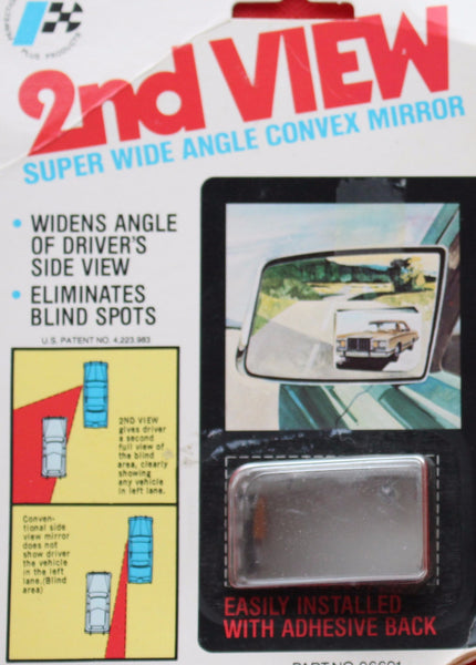 2nd. View Super Wide Angle Covex Mirror