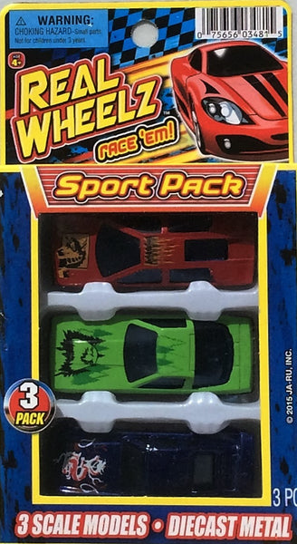 Real Wheel'z Diecast Sport Pack