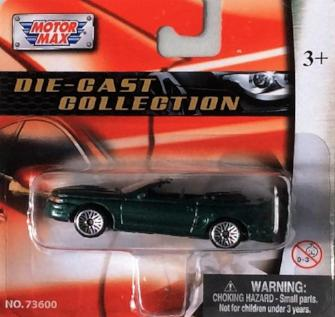 Motor Max Die-Cast Collection 1998 Cobra
