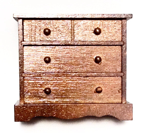Miniature Four Drawer Chest Dresser