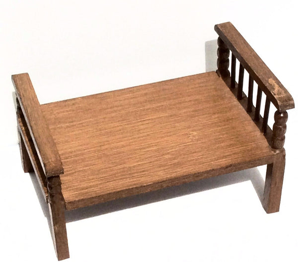 Miniature House - Vintage Wood Bed