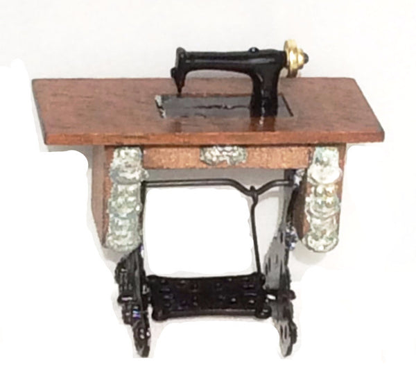 Miniature Antique Style Sewing Machine