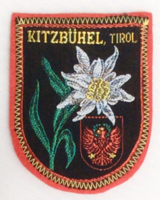 Kitzbuhel, Tirol Austria Souvenir Sew on Ski Patch