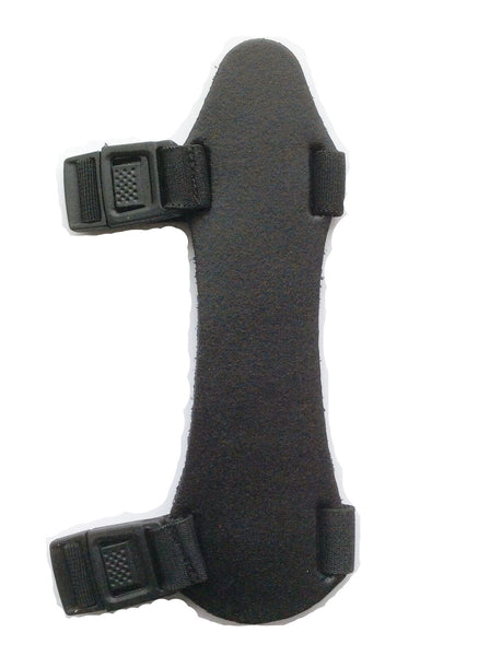 Martin Archery Youth Armguard with Quick-Snap Fasteners Black