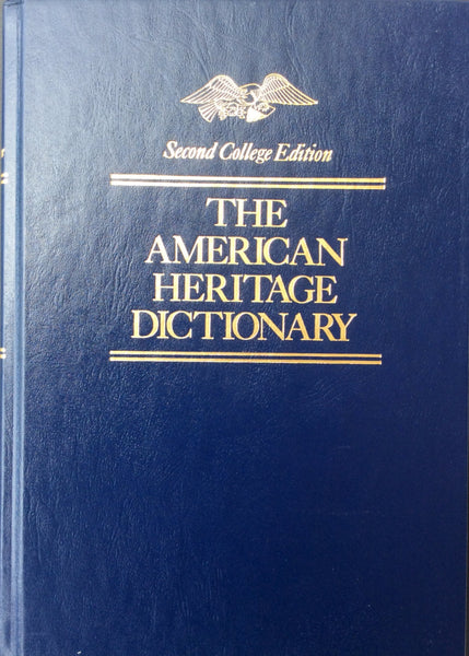The American Heritage Dictionary (Thumb Tabs) - Second College Edition