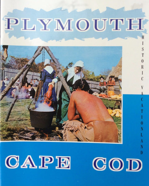Plymouth Cape Cod Historic Vacation-Land Booklet