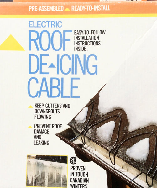 Electric Roof De-Icing Cable - 30 Ft.