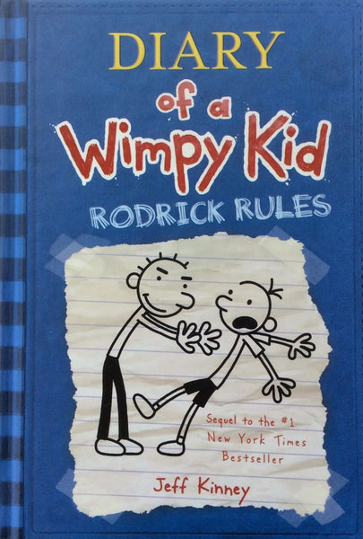 Diary Of A Wimpy Kid Rodrick Rules by Jeff Kinney Hardcover 2008