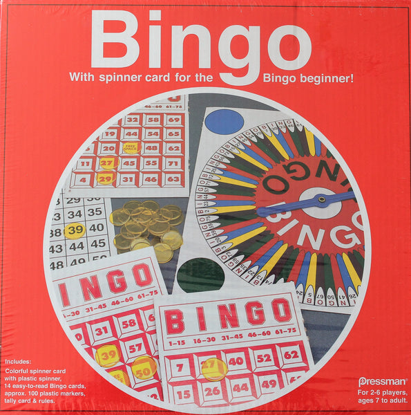 Bingo with Spinner card for the Bingo Beginner