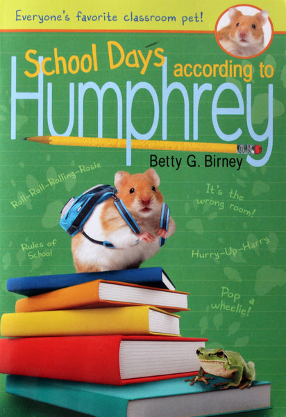 School Days according to Humphrey by Betty G. Birney, Paperback 2011