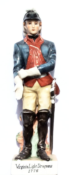 Virginia Light Dragoons 1776 Figurine