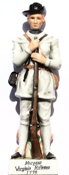 Morgans Virginia Soldier 1776 Figurine