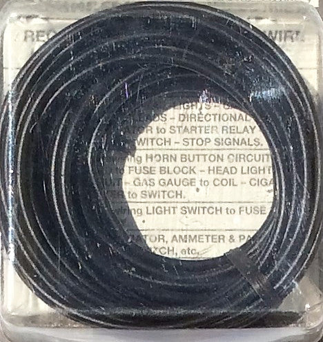 14 Gauge 17Ft. Primary Wire - Black