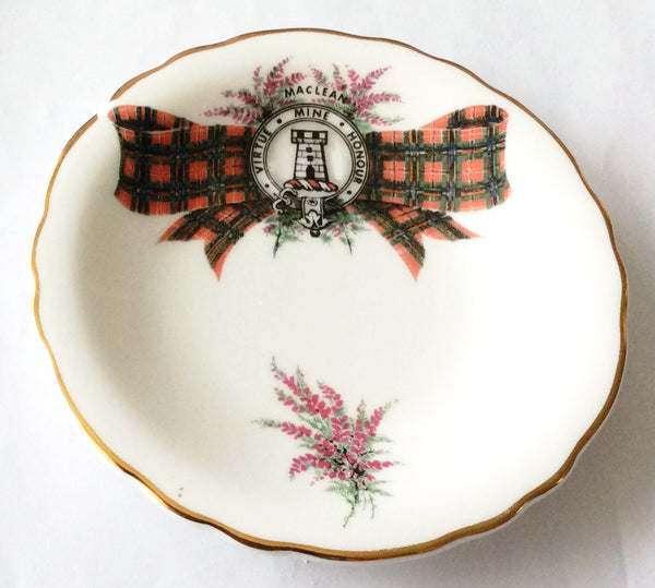 Royal Grafton Clan Maclean Scotland- Fine Bone China -  Plate
