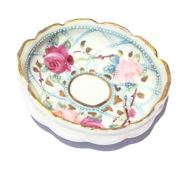 Hand Painted Porcelain Ring Dish