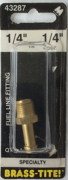 "Motormite Fuel Line Fitting 1/4"" If to 1/4"" Hose #43287 Specialty"