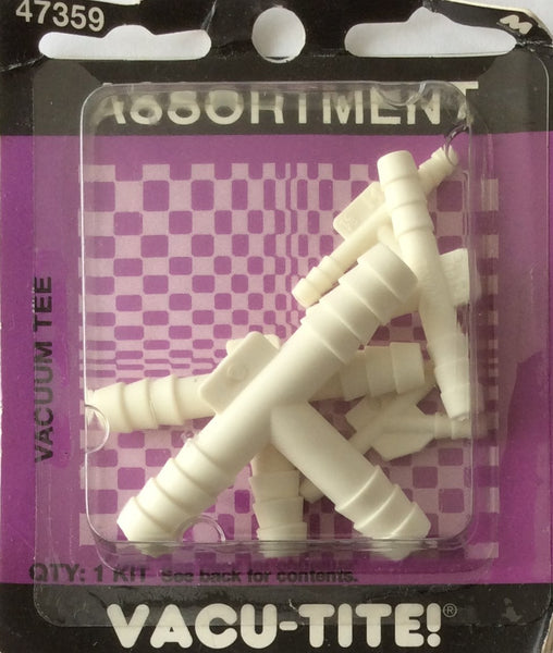 Motormite Vacuum Tee Assortment Kit #47359
