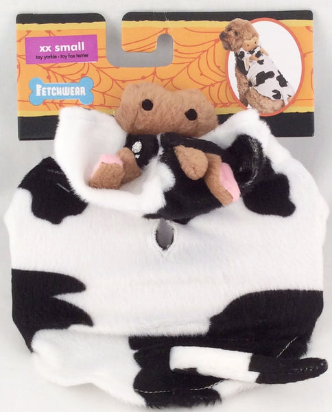 Fetchwear Dog Halloween Cow Costume