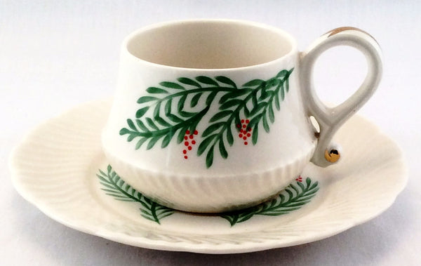 Rose Crown China Tea Cup And Saucer Set