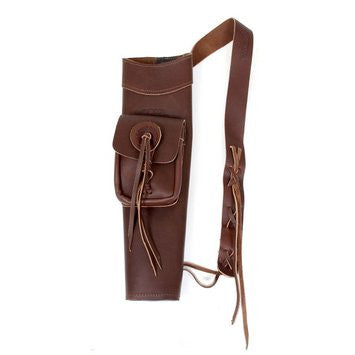 Martin Archery Leather Back Quiver