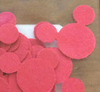 "Mickey Mouse Cut Out Disney Confetti 1/2"" Mickey Ears Cut Outs Party Supply"