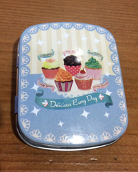 Mini Tin Pill Case Purse Organizer