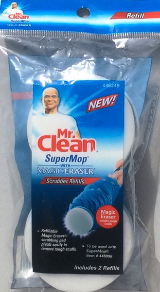 Mr. Clean SuperMop with Magic Eraser Refill