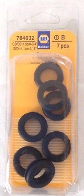 Napa Rubber Grommets, No. 784632, Set of 7
