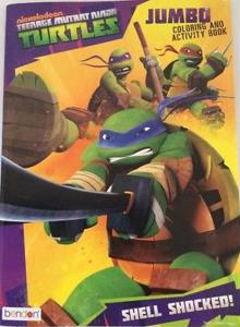 Nickelodeon Teenage Mutant Ninja Turtles Jumbo Coloring and Activity Book