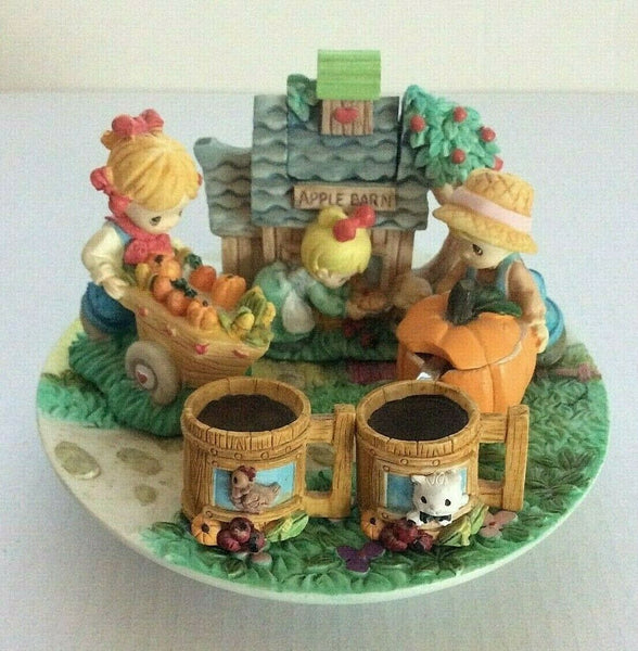 Precious Moments Country Lane 9 Piece Mini Tea Set - Vintage 1997