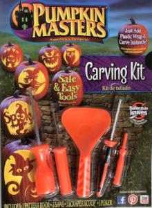 Pumpkin Carving Kit with Pattern Book