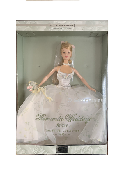 Romantic Wedding Barbie, The Bridal Collection, 2001 Barbie Collectible