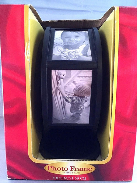 "Rotating Wheel 8.5"" Photo Frame"