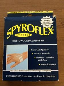 Spyroflex Sterile Sports Wound Closure Kit
