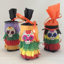 Sugar Skull Party Favors Handmade, Fiesta Party Favors, Halloween Party Favors, Mexican Fiesta Decorations