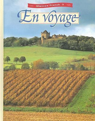 En Voyage Glencoe French 3 Hardcover By Schmitt / Lutz - Used