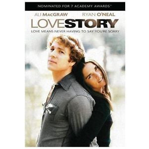 Love Story (DVD) Featuring Ali MacGraw & Ryan O'Neal