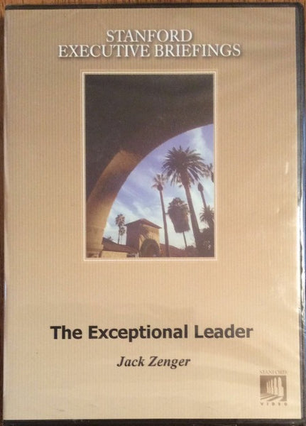 The Exceptional Leader:Action Steps for Leadership Formation DVD by Jack Zenger