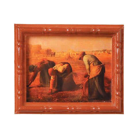 Timeless Minis - Jean-Francois Millet Painting - 2.125 x 2.6875 inches